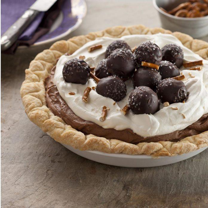 Sweet & Salty Truffle Pie