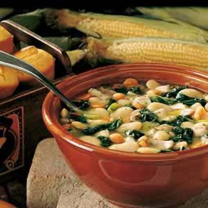Chicken Lima Bean Soup