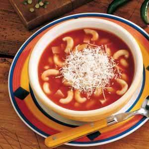 Italian Macaroni Soup