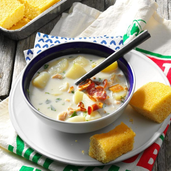 The Classic: Potato Clam Chowder