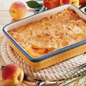 Colorado Peach Cobbler