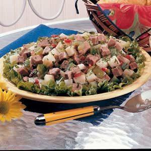 Roast Beef and Potato Salad
