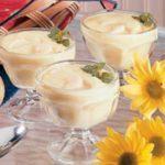 Banana Custard Pudding