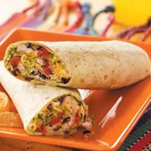 Turkey Tortilla Roll-Ups
