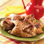 Grilled Game Hens