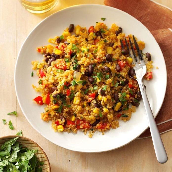 Day 30: Black Bean & Corn Quinoa