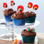 Devil's Food Cupcakes with Chocolaty Frosting