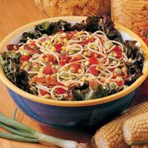 Garden Spaghetti Salad