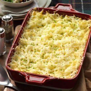 Chive & Onion Hash Brown Potatoes