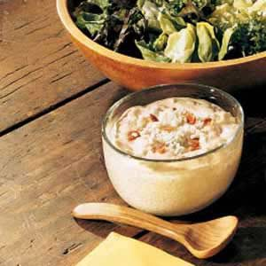 Blue Cheese-Bacon Dressing