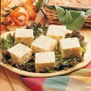 Picnic Potato Squares Salad