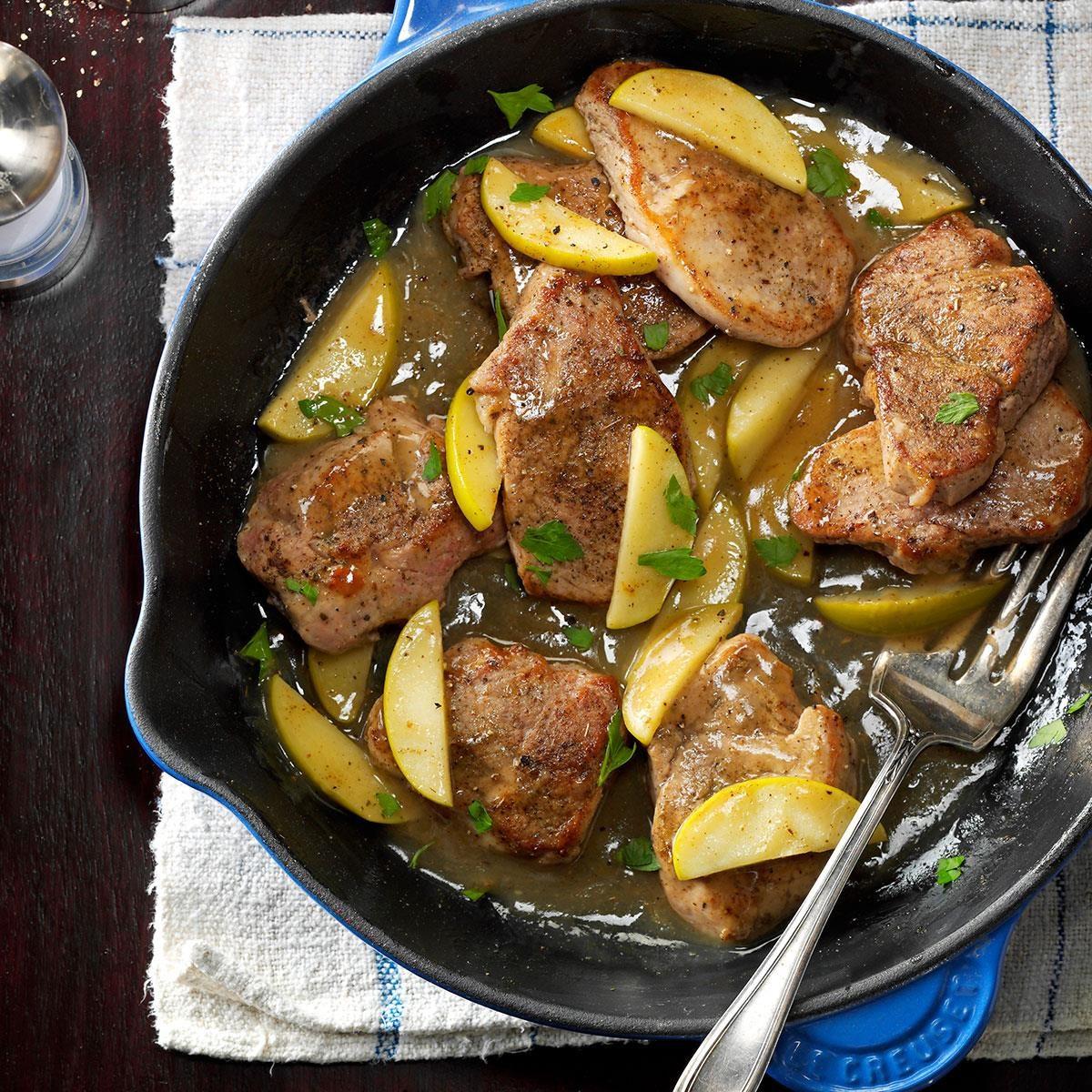 Monday: Apple & Spice Pork Tenderloin