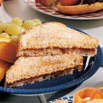 Grilled PBJ Sandwiches