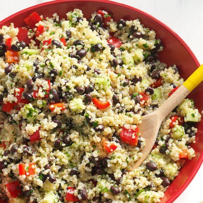 Day 22: Quinoa Tabbouleh