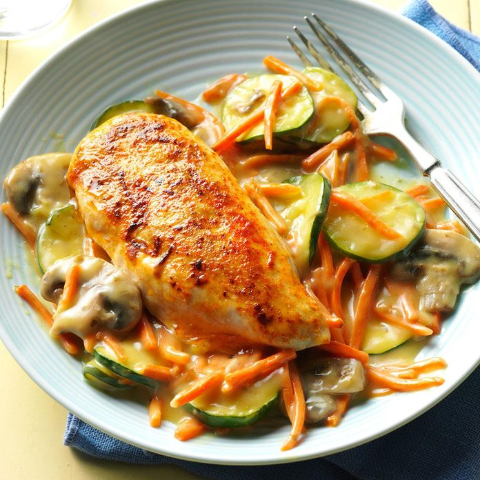 Stovetop Tarragon Chicken