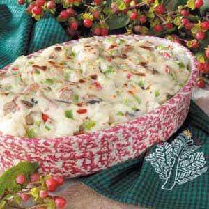Festive Cauliflower Casserole