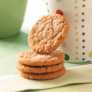 Oatmeal Gingersnaps