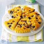 Lemon Blueberry Cornmeal Cake