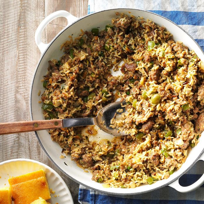 Spicy Rice Casserole