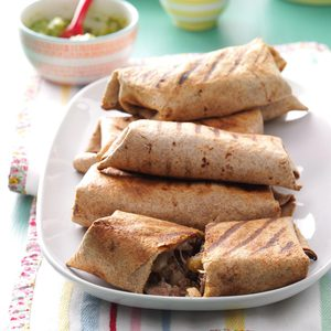 Grilled Beef Chimichangas