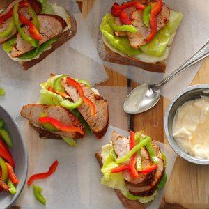 Cajun Pork Sandwiches