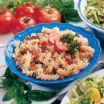 Basil Pasta and Ham Salad