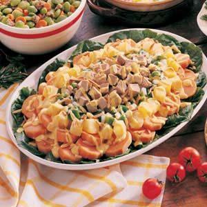Pork 'n' Sweet Potato Salad