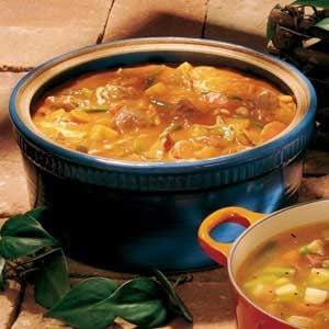 German Sauerbraten Stew