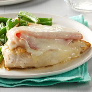 Weeknight Chicken Cordon Bleu