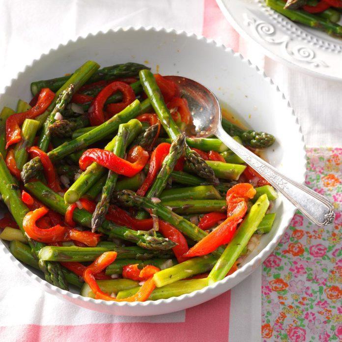Citrus-Tarragon Asparagus Salad