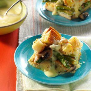 Savory Asparagus Strata