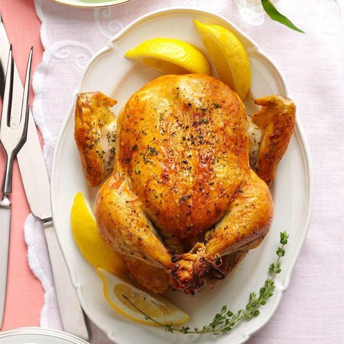 Lemon & Thyme Roasted Chicken
