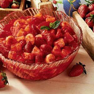 Strawberry-Glazed Fruit Salad