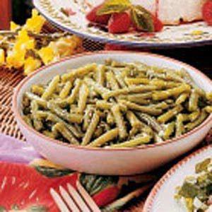 Summertime Green Beans