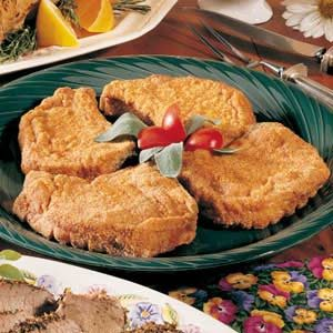 Breaded Pork Chops for Four