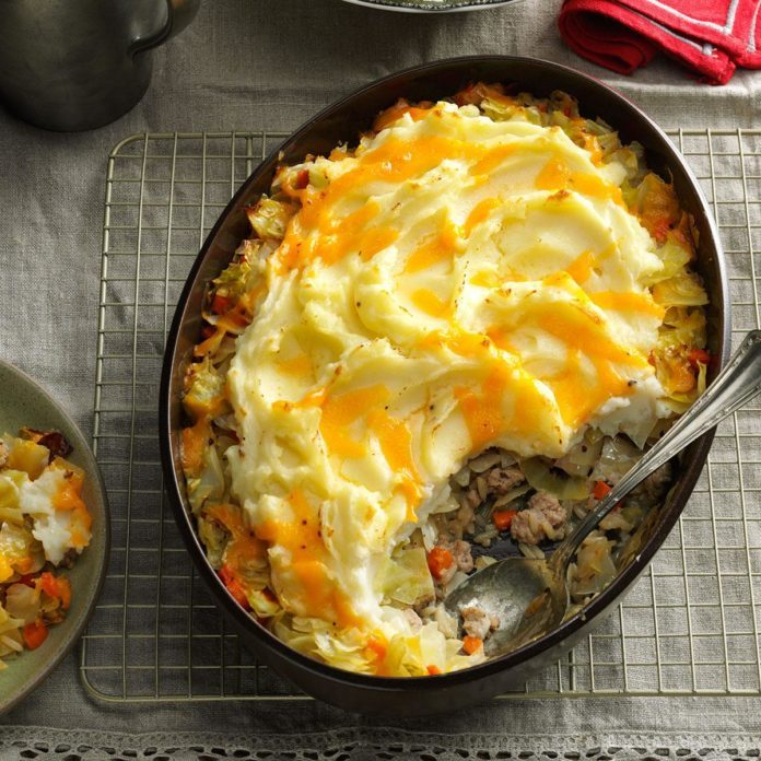 Pork Shepherd's Pie