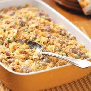 Sausage-Corn Bake