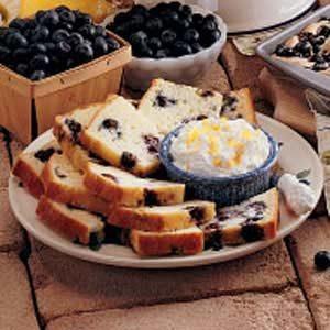 Blueberry Tea Bread