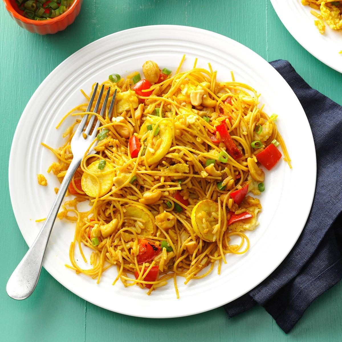 Curried Rice & Noodles