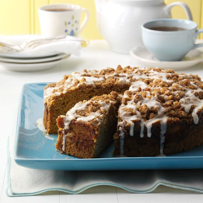 Maine: Buttercup Squash Coffee Cake