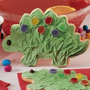 Giant Dinosaur Cookies