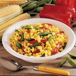 Dilled Corn and Peas