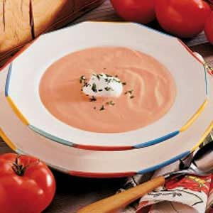 Quick Cream of Tomato Soup