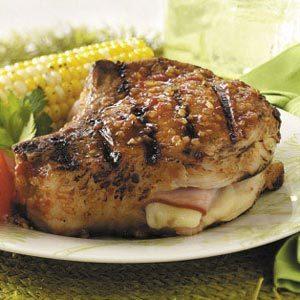 Cordon Bleu Pork Chops