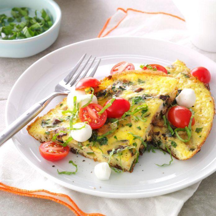 Day 10 Breakfast: Full Garden Frittata