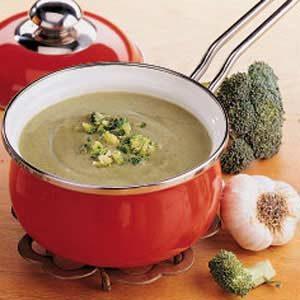 Quick Cream of Broccoli Soup