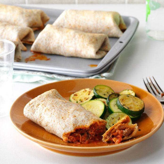 Italian Burritos