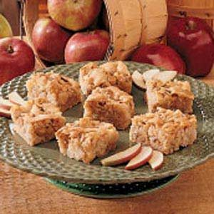 Apple Snack Squares