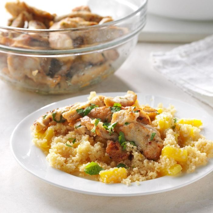 Jamaican Chicken with Couscous