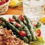 Tomato Asparagus Salad